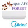 Midea AF8-09N1C2-I /AF8-09N1C2-O (2020) кондиционер серии Forest DC inverter до 25 кв.м.