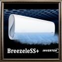 серия BreezeleSS+ DC inverter (до -25С) кондиционеры Midea