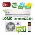 Кондиционер Gree серии Lomo Inverter (-22C) R32 + Wi-Fi