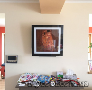 LG серии Art Cool Gallery Inverter кондиционер картина.Для тех кому важен внешний вид.